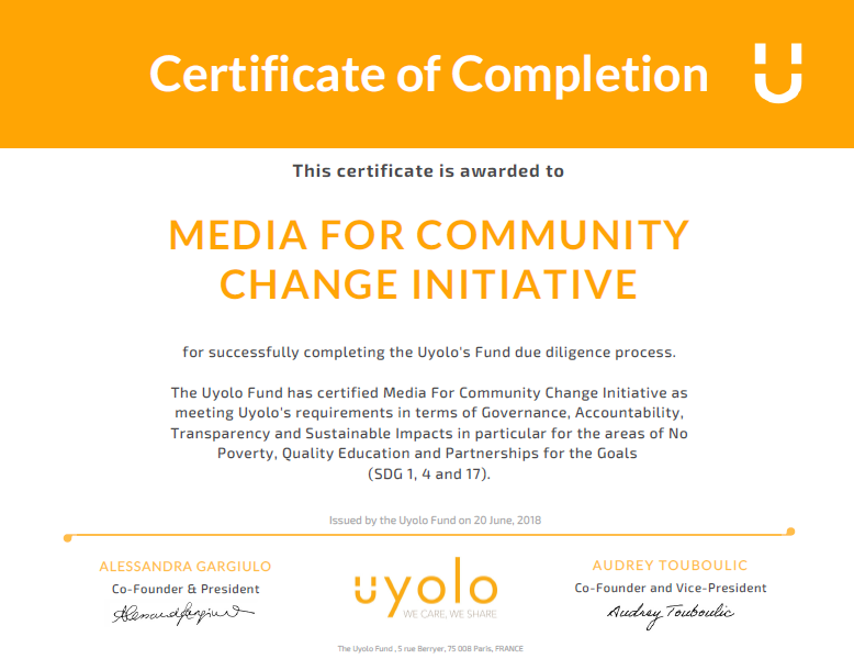 MFCC BECAME AN OFFICIAL PARTNER OF UYOLO