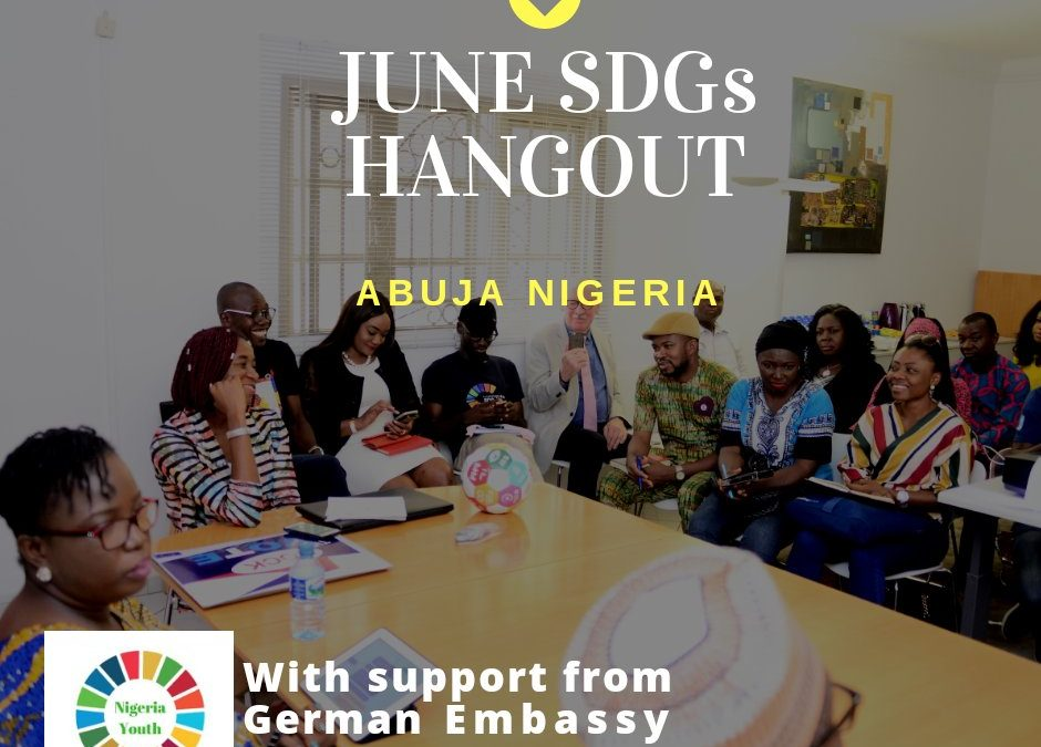 German Embassy To Host SDGs Story Hangout in June