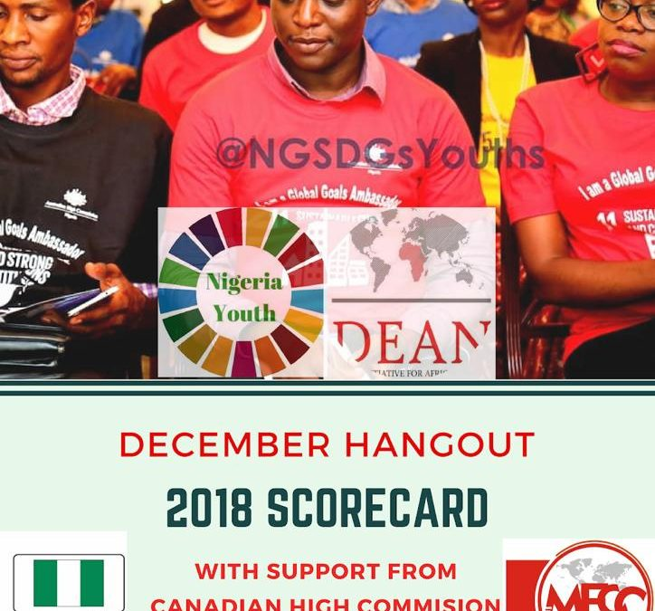 SDGS: CANADA HIGH COMMISSION TO HOST DECEMBER EDITION OF SDGSSTORY
