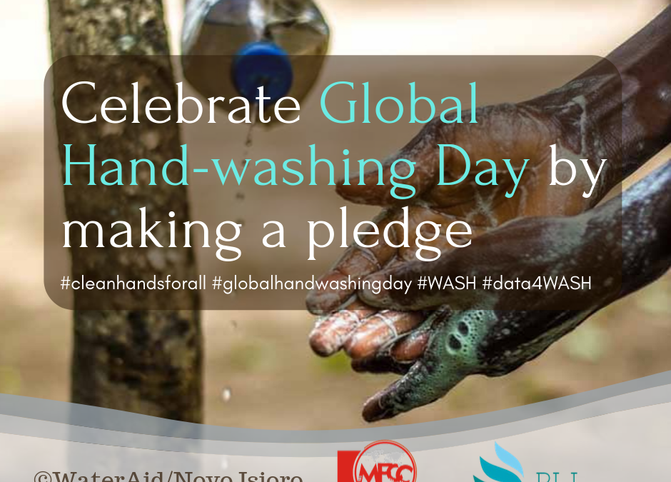 Today is Global Hand-Washing Day! Celebrate with Us!