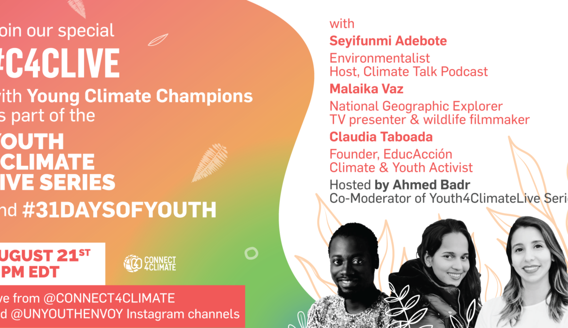 Seyifunmi Adebote, others to speak at UN's #Youth4ClimateLive series – IG Live