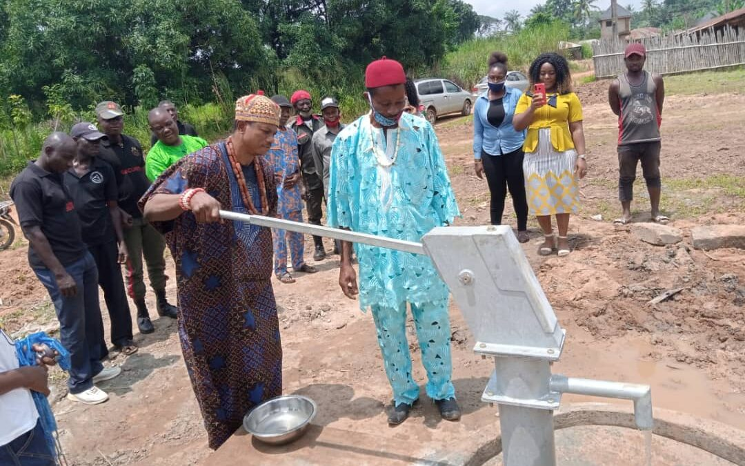 After 29 years, Abandoned Enugu community gets the first-ever borehole